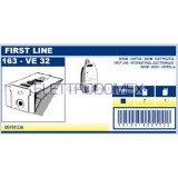 09791336 Sacchetti di Carta Compatibili 163 VE 32 per Aspirapolvere Birum, Curtiss, First Line, Sidem, Sidex e Vetrella